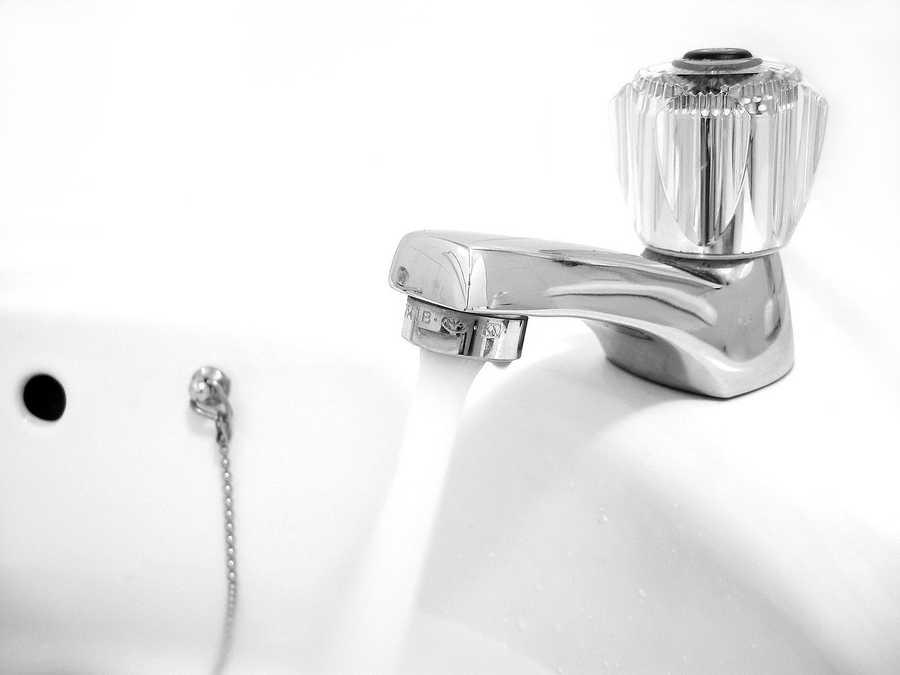 6) Faucet handles