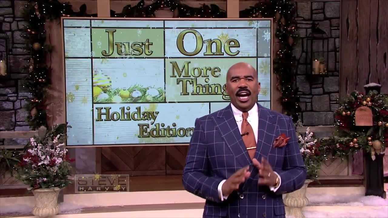 "Tune-in to ""Steve Harvey"" on Wednesday, December 17 to see brothers Marty and Mike get their annual picture taken with Santa Claus!  The show airs on WCVB at 10 am."