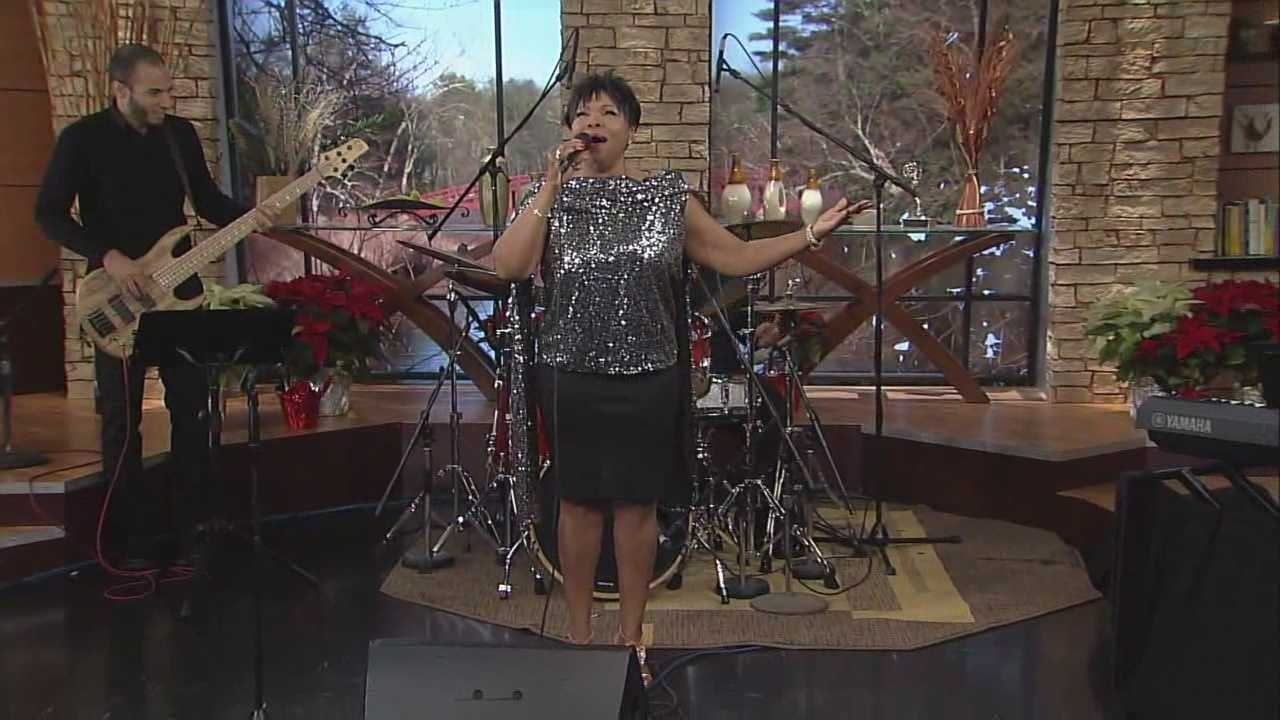 DD Gray Martin and her trio continue with a gospel tune