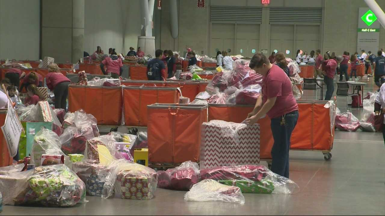Christmas In The City, a holiday party for families in need, celebrated 26 years of giving in Boston on Sunday.
