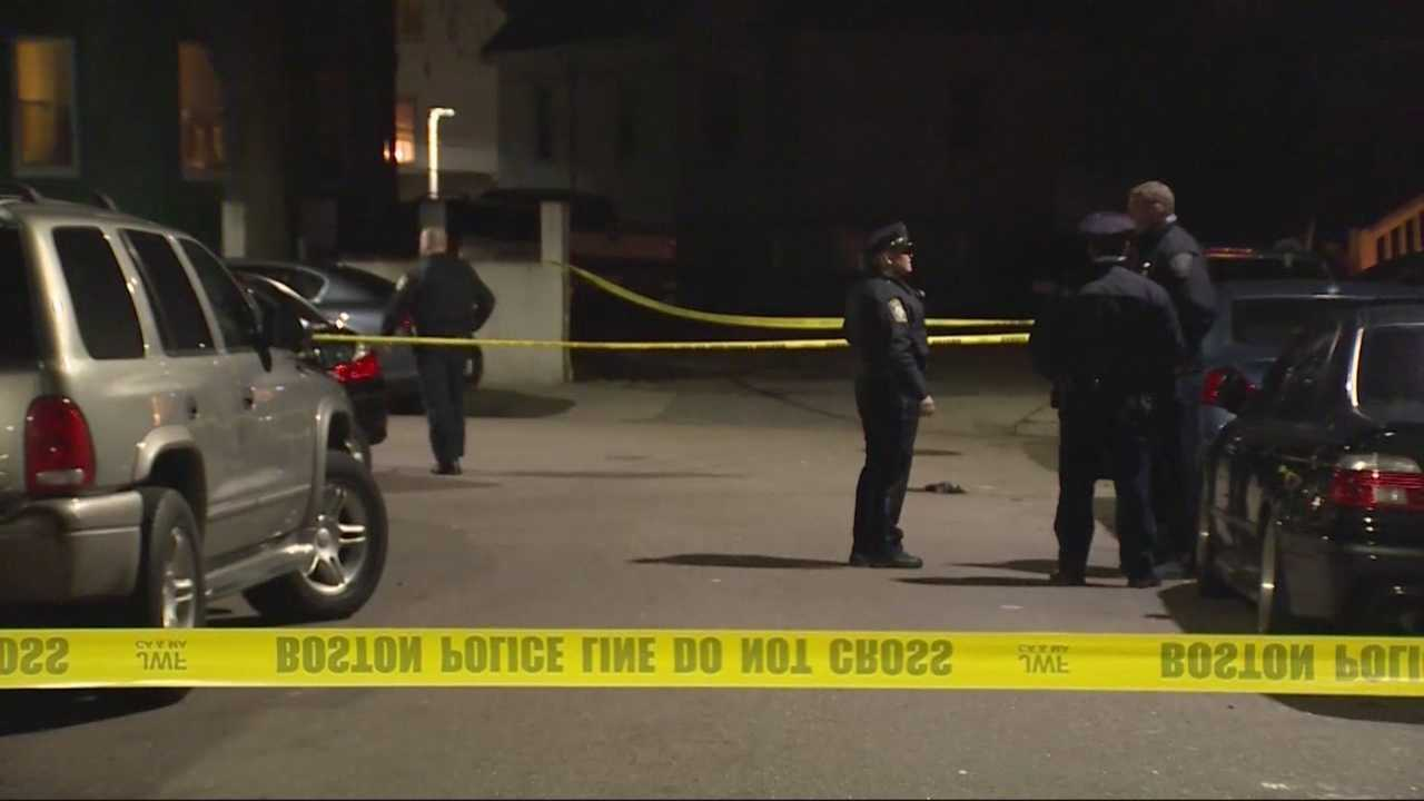 Boston police are investigating a Christmas Day triple shooting that left one victim with life-threatening injuries.