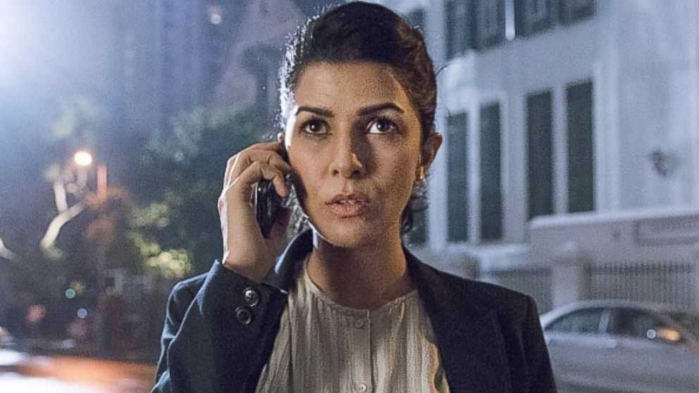 "Nimrat Kaur as ISI agent Tasneem in ""Homeland,"" Season 4, Episode 5"