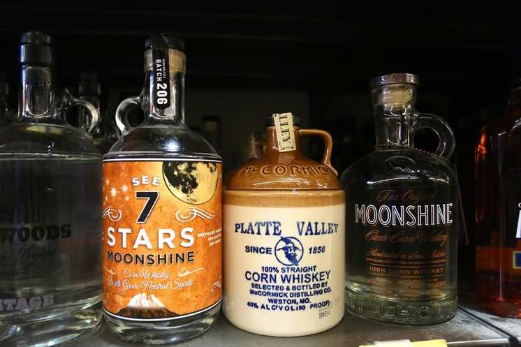 9. Boutique moonshine: Brands based everywhere from Kentucky to New York are touting what amounts to a boutique version of moonshine or white lightnin', costing as much as $40 a bottle.