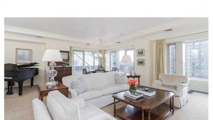 100 Belvidere St. #4G is on the market in Boston for $4.2 million.