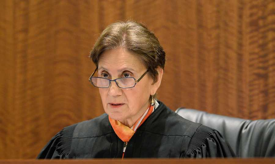 Judge E. Susan Garsh is presiding over the trial. Prosecutors had asked Garsh to step aside from the case because they said she had an antagonistic relationship with prosecutor William McCauley. Garsh declined.
