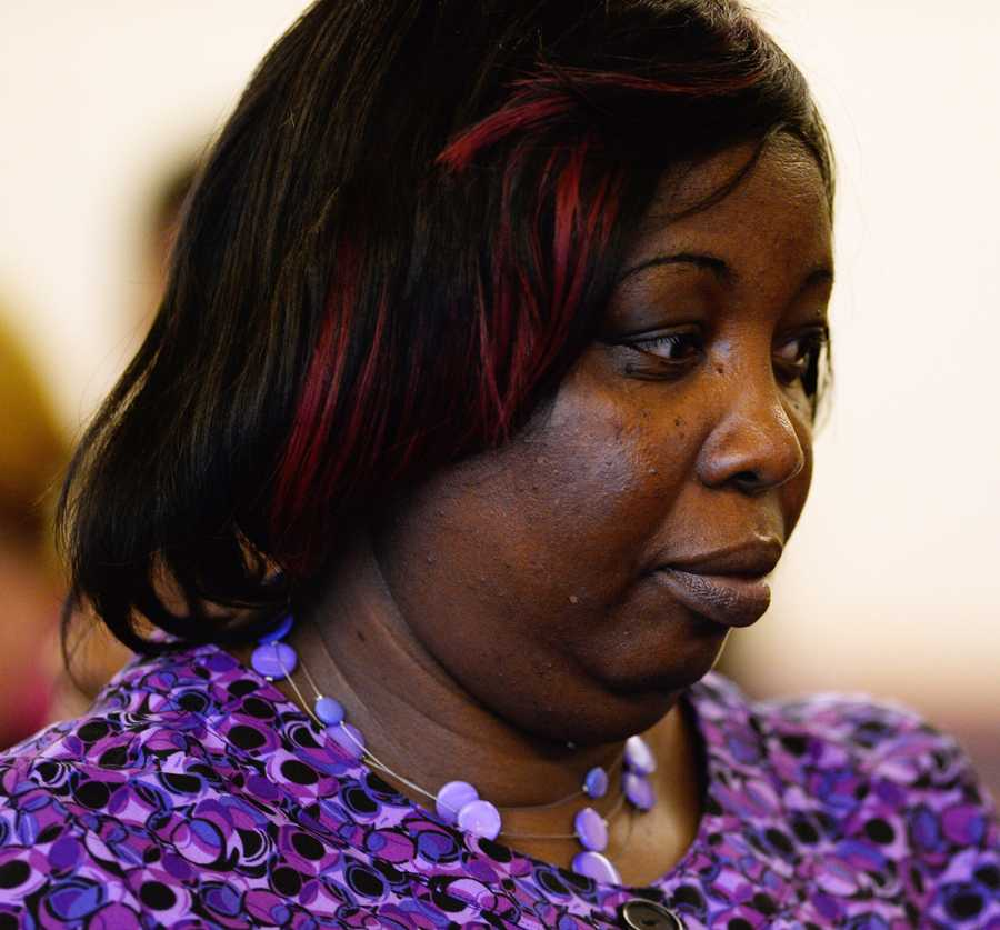 Ursula Ward -- mother of murder victim Odin Lloyd.