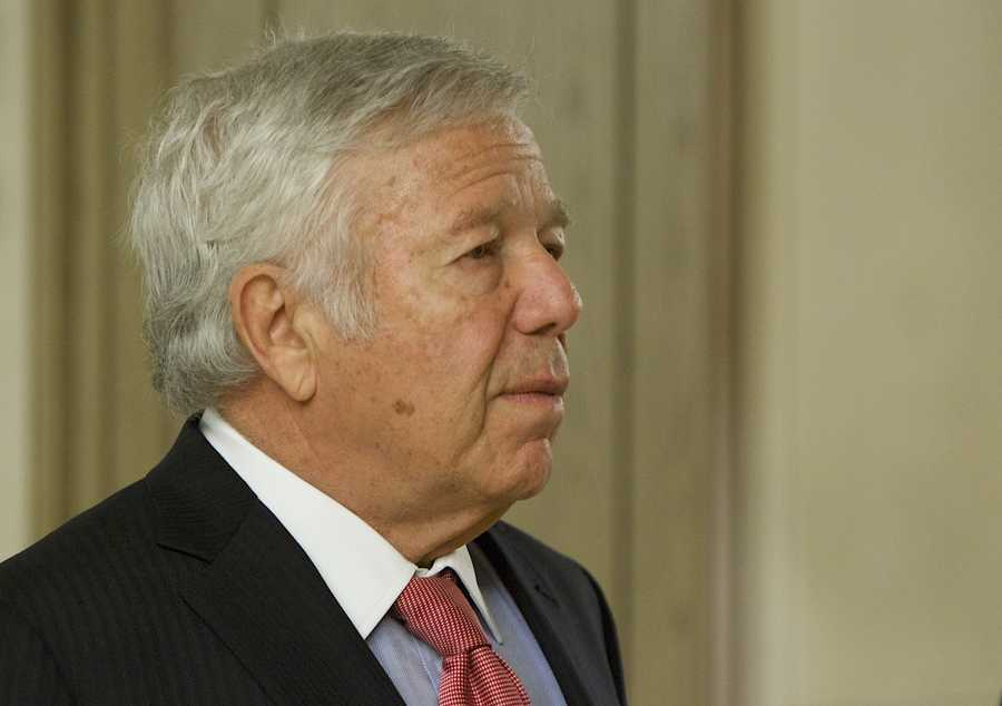 New England Patriots owner Robert Kraft -- is on witness list.