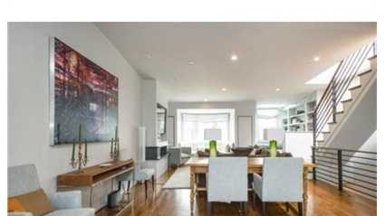 38 Upton St. #4 is on the market in Boston for $1.99 million.