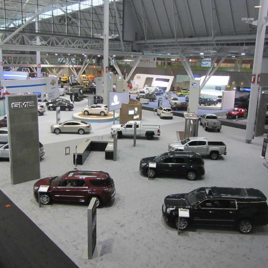 The show offers something for everyone -- even for those in the market for a very high-end ride.