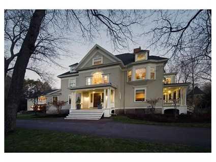 288 Chestnut Street is on the market in Newton for $3.2 million.