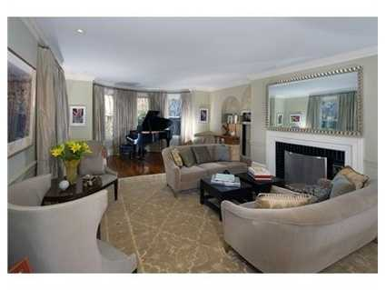 The home isset on .85 acres on beautiful West Newton Hill.