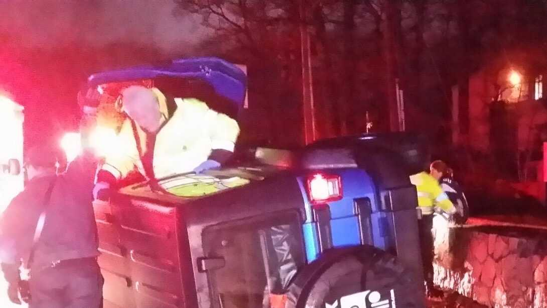 Vince Wilfork helps driver in crash