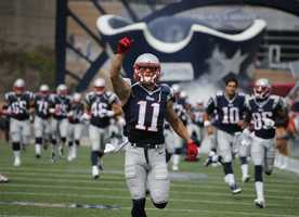 For the 2011 season, Edelman played 13 games with 4 receptions for 34 yards and 584 return yards on 40 kickoff-punt combined returning opportunities.