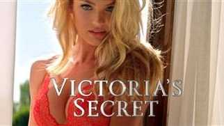 This image provided by Victoria's Secret shows a portion of the company's television ad scheduled to run during Super Bowl XLIX on Sunday, Feb. 1, 2015. Super Bowl advertisers are being careful not to offend this year. A Victoria's Secret 90-second teaser ad showed super models fully dressed as football players, although the actual Super Bowl ad shows the models dressed in Victoria's Secret lingerie.