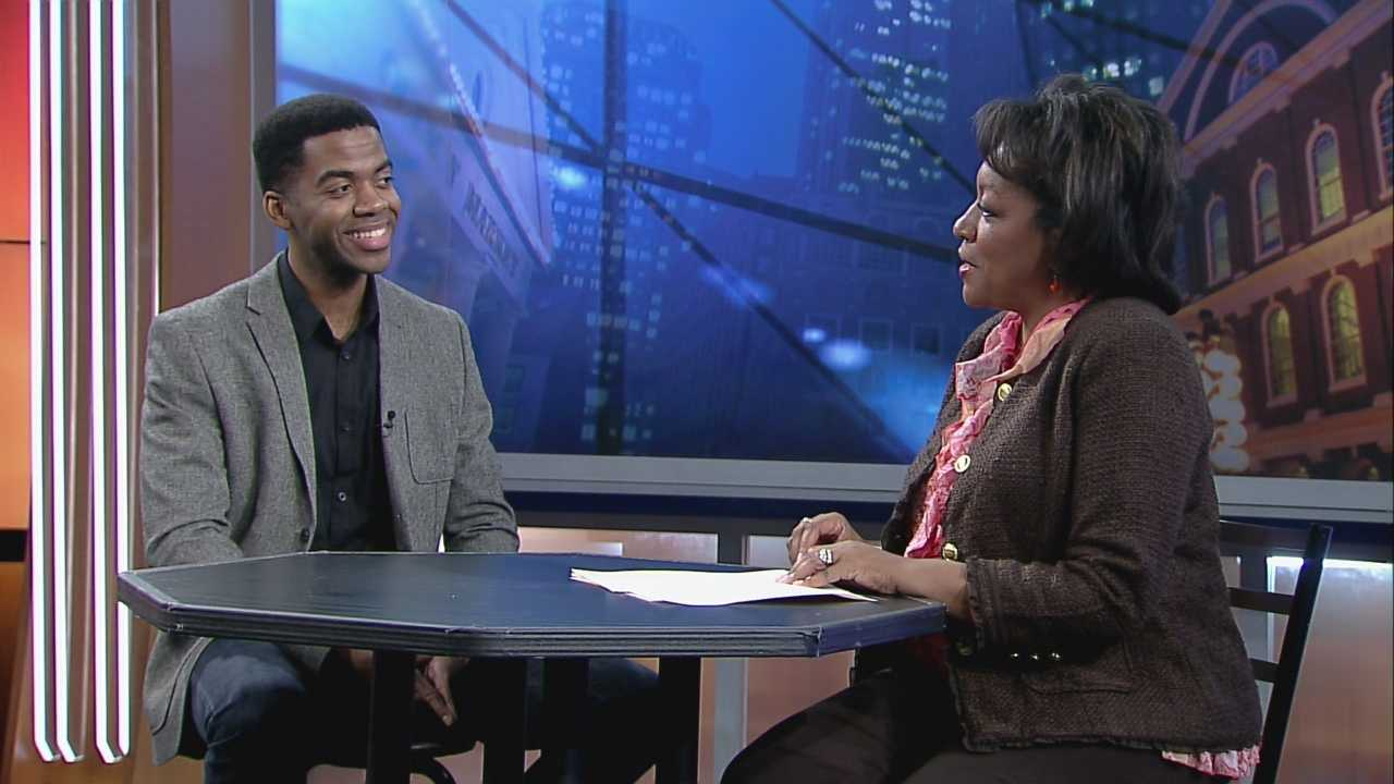 Lead of 'Motown the Musical' Julius Thomas III joins Karen.