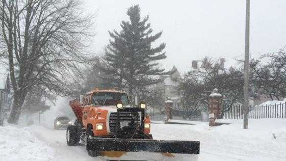 Plowing in Worcester