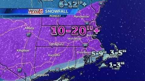 Snowfall 2.3 5am map