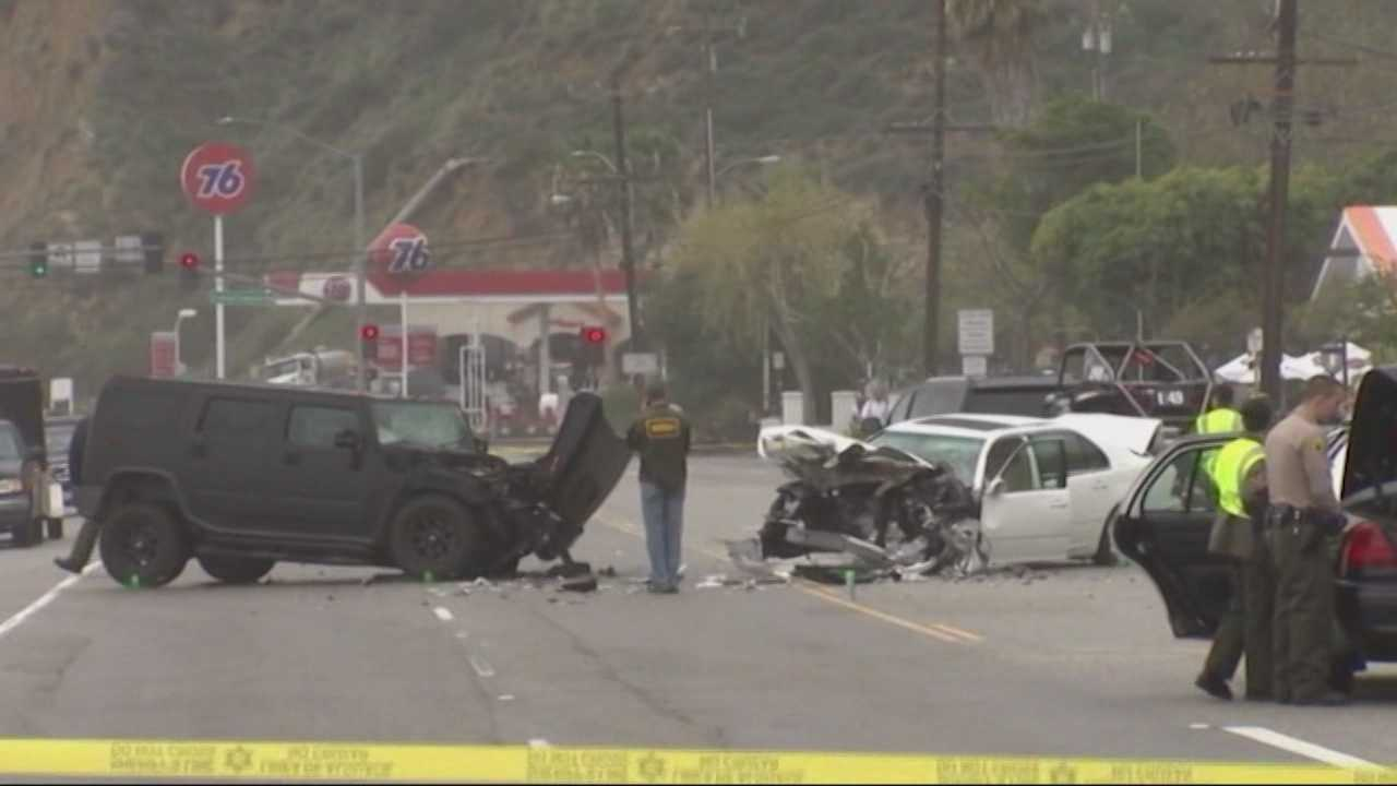 Olympic gold medalist and Kardashian family patriarch Bruce Jenner was behind the wheel of an SUV involved in a multi-vehicle crash in Malibu that killed a woman and injured seven others, authorities said.