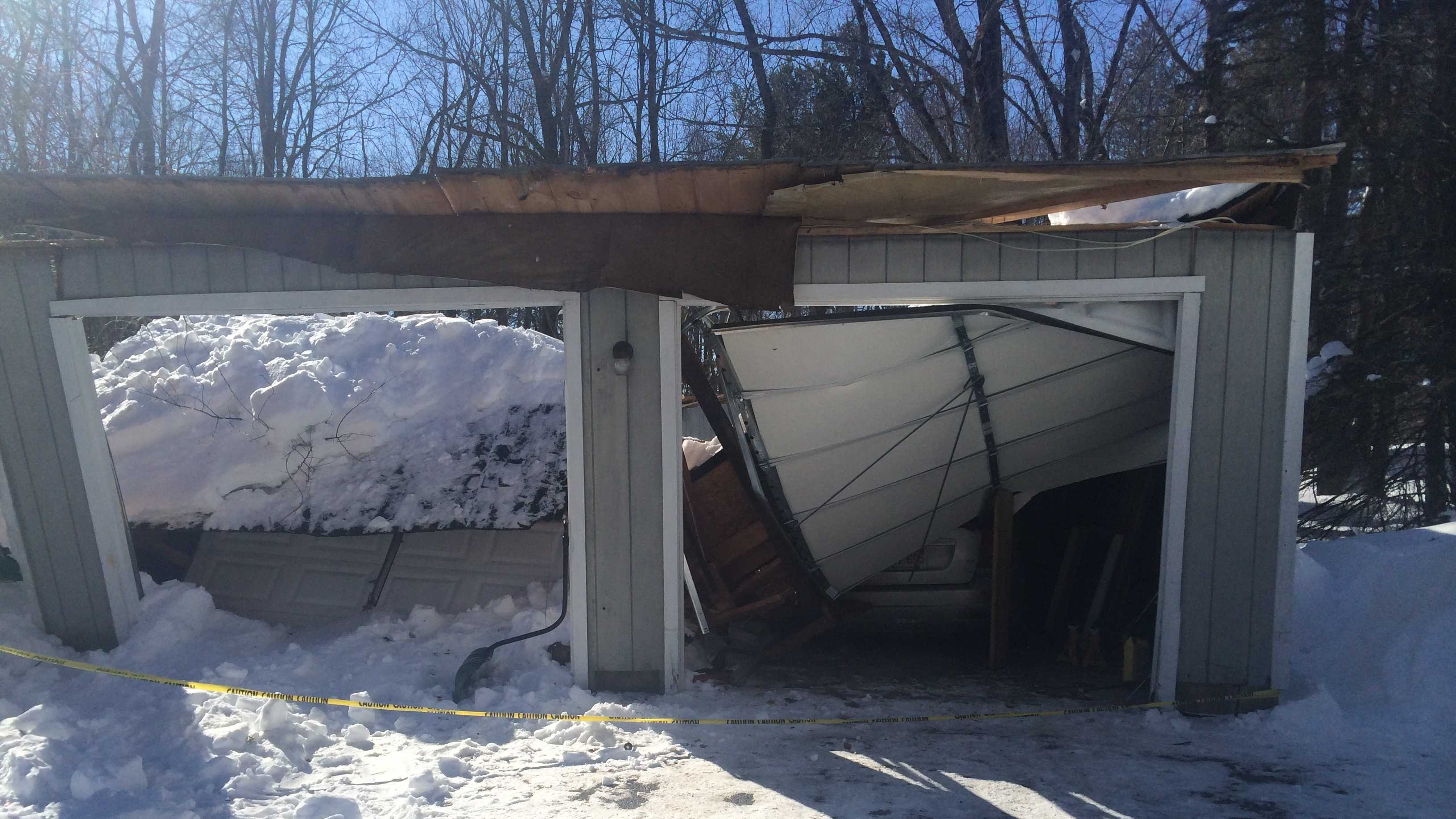 Pepperell Garage Collapse