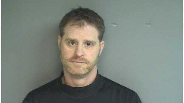 Alan Becker was charged with third-degree criminal mischief and breach of peace.