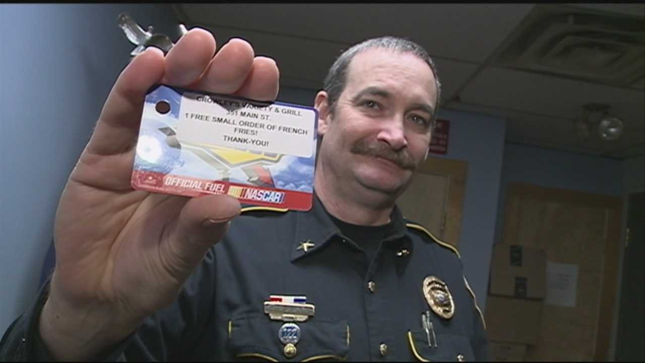 A ticket in one local town could mean free pizza for citizens following the rules. WMUR's Jean Mackin has the report.