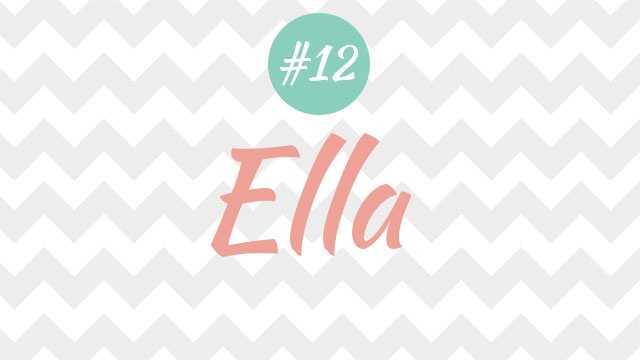 12 - Ella