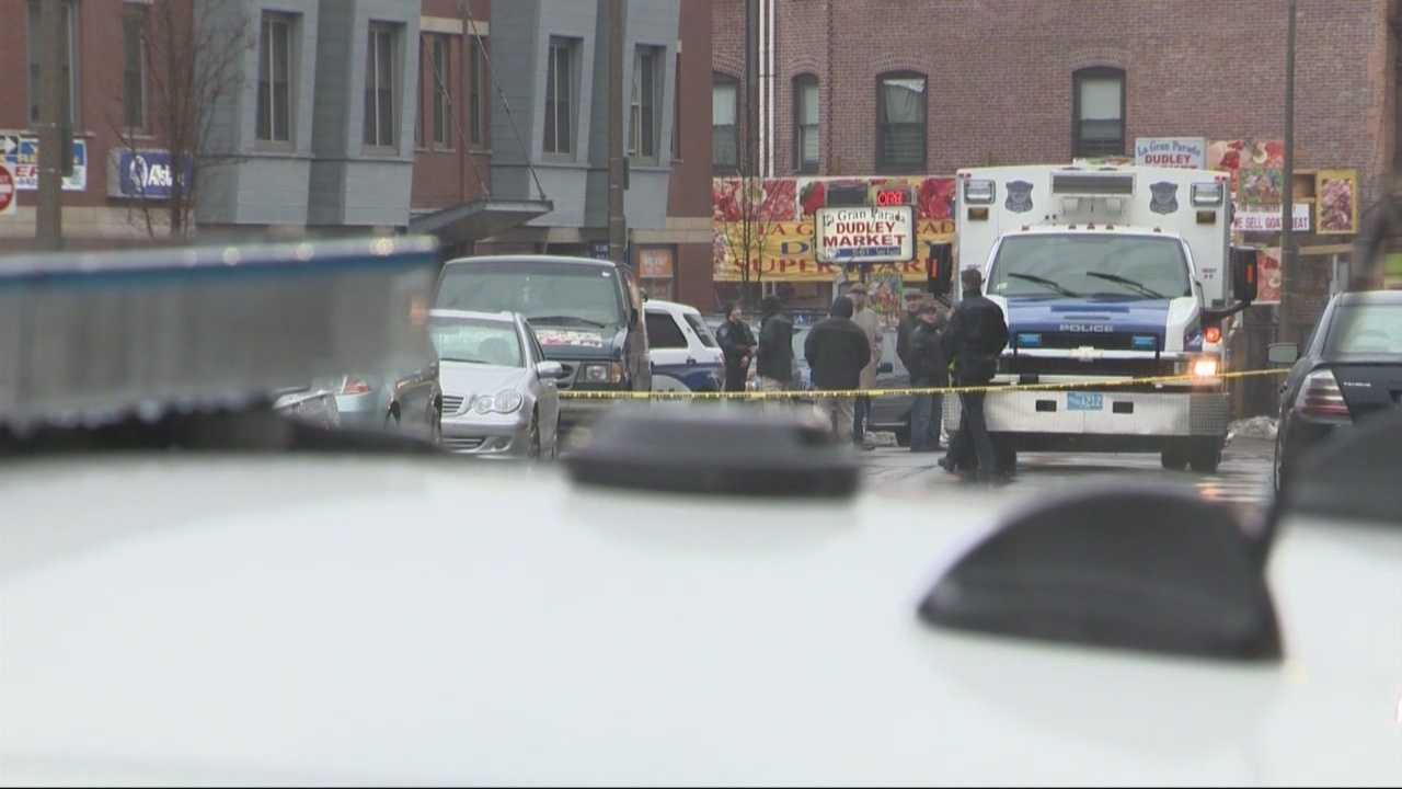 Police are investigating a drive-by shooting in Roxbury Saturday that left one man dead.