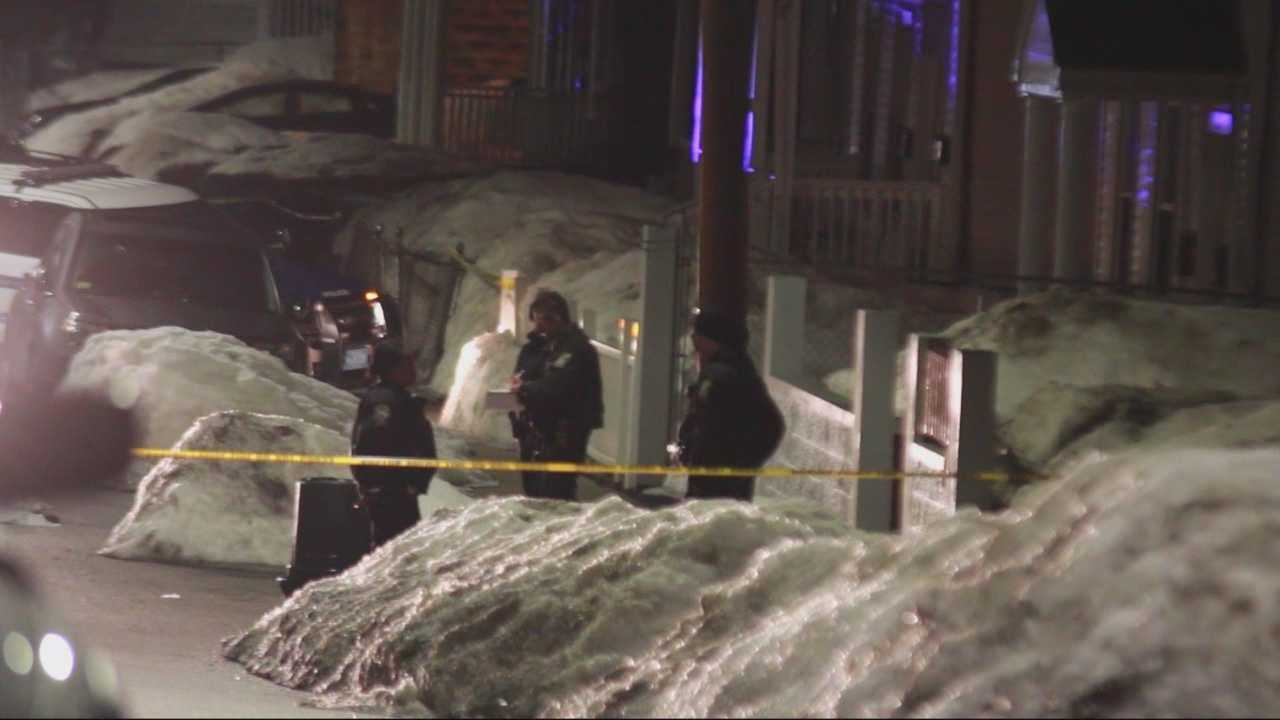 At least two people shot in Hyde park early Sunday morning.
