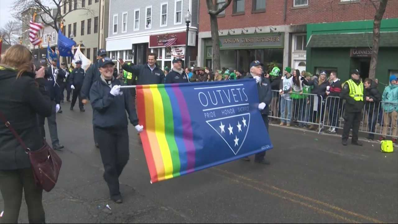 Boston's St. Patrick's Day parade is making history as two gay and lesbian groups are being welcomed by the organizers after decades of opposition.
