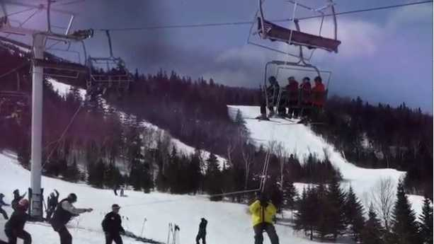 More than 200 people were evacuated from the lift, according to mountain officials.
