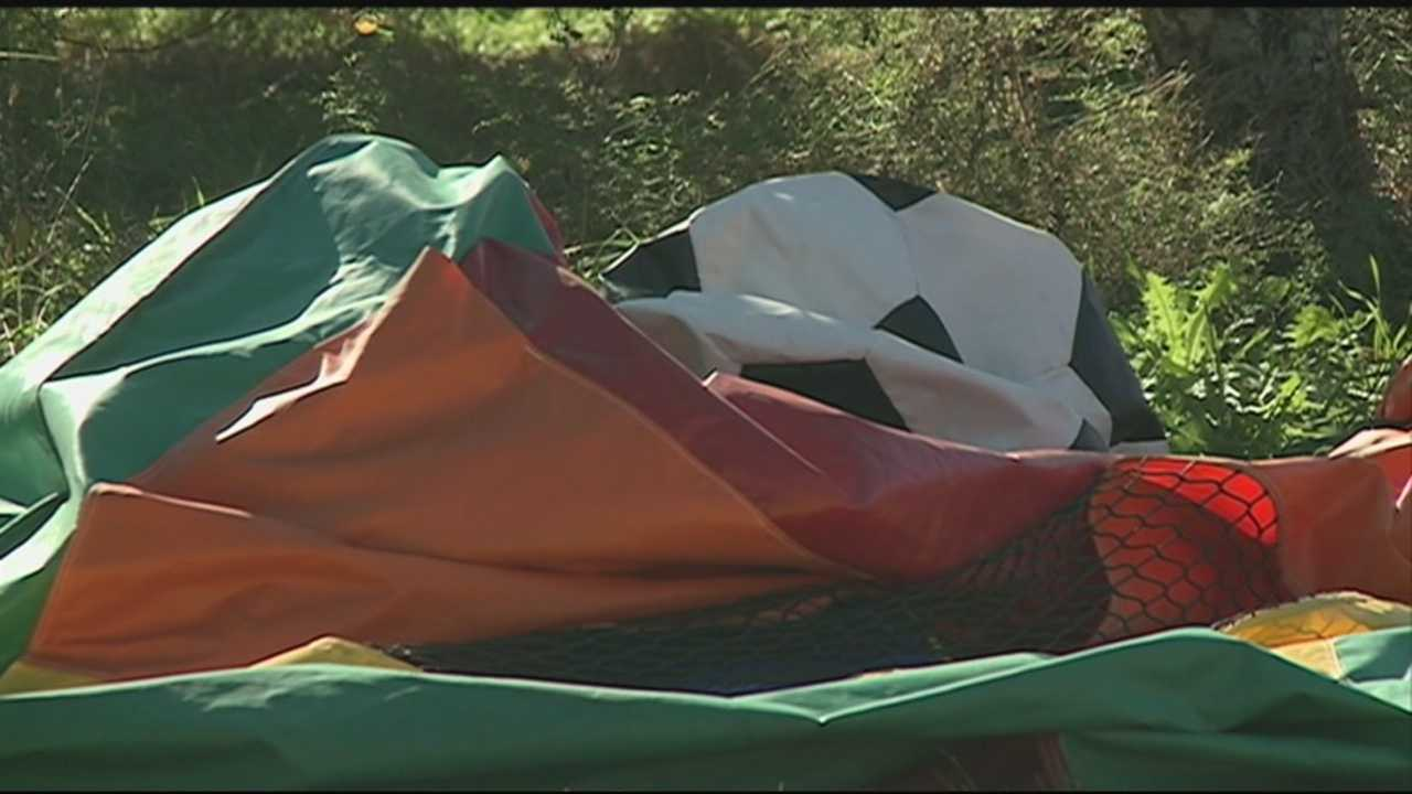 The owner of a bouncy house that went airborne in Nashua last fall, injuring two toddlers, will not face any charges.