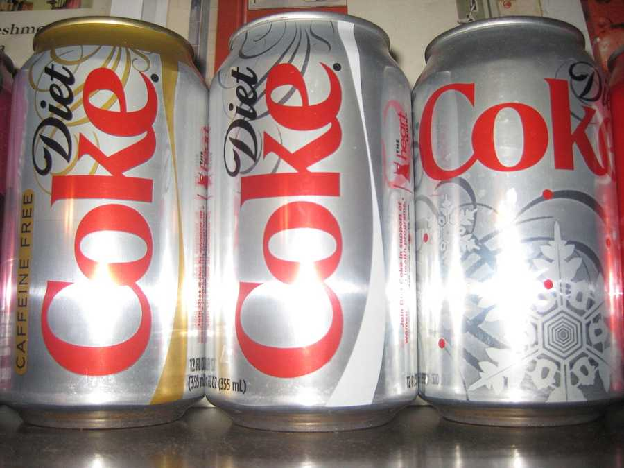 Diet soda is advertised as a healthier option for soda lovers, but artificial sweetners found in diet soda can be just as harmful as the sugar found in regular soda. Drinking diet soda has been linked to heightened risk of strokes, heart attacks, pancreatic cancer and premature birth.