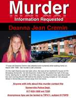 Her body was found behind a nearby elderly housing complex on March 30, 1995. She had been strangled to death.