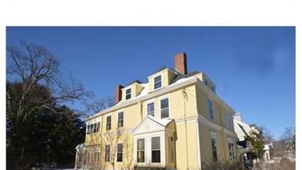 23 Hawthorn St. is on the market in Cambridge for $4.5 million.
