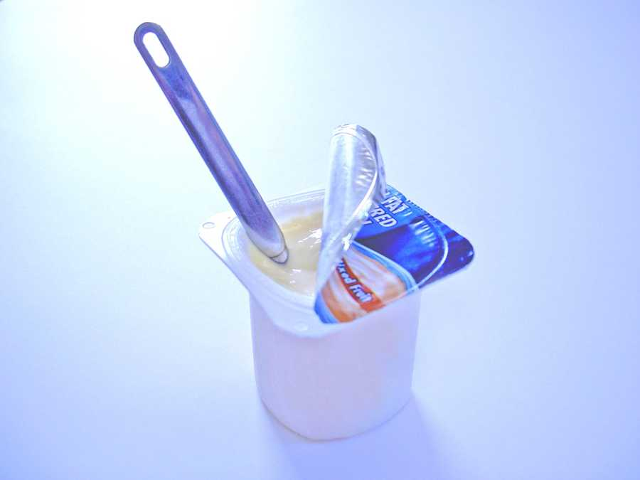 Yogurt contains high amounts of calcium, protein and probiotics, all three of which help combat stress and anxiety.