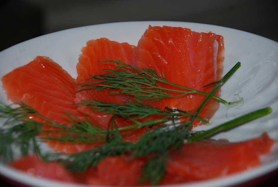 Salmon: Along with stress comes high levels of anxiety hormones like adrenaline and cortisol. Salmon contains Omega-3 fatty acids that help fight the negative effects of stress hormones.