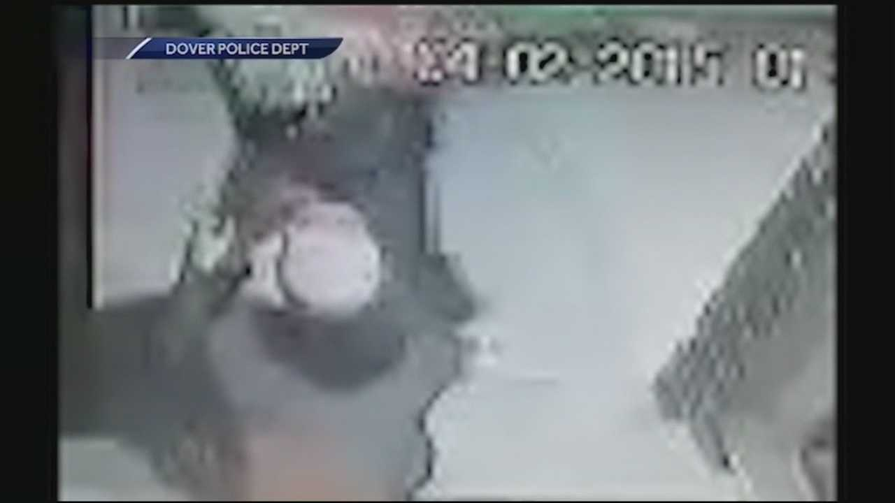 Dover police are looking for the man behind an assault caught on surveillance video. WMUR's Jean Mackin has the report.
