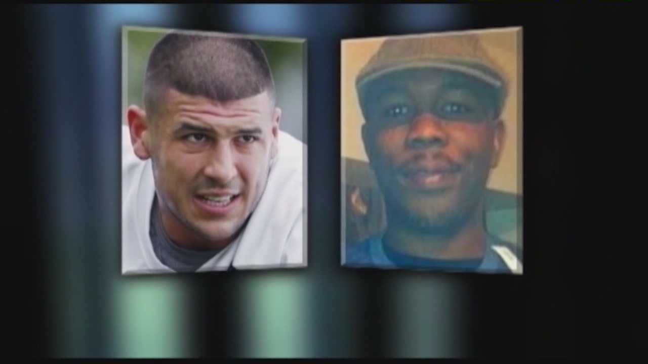 On April 15, 2015, Former New England Patriots player Aaron Hernandez was found guilty of first-degree murder in the death of Odin Lloyd.