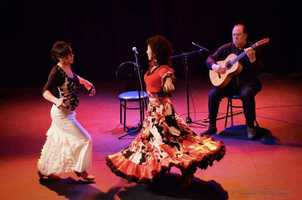 Juerga Flamenca, May 1 in Cambridge. Visit artweekboston.org for full calendar of events.