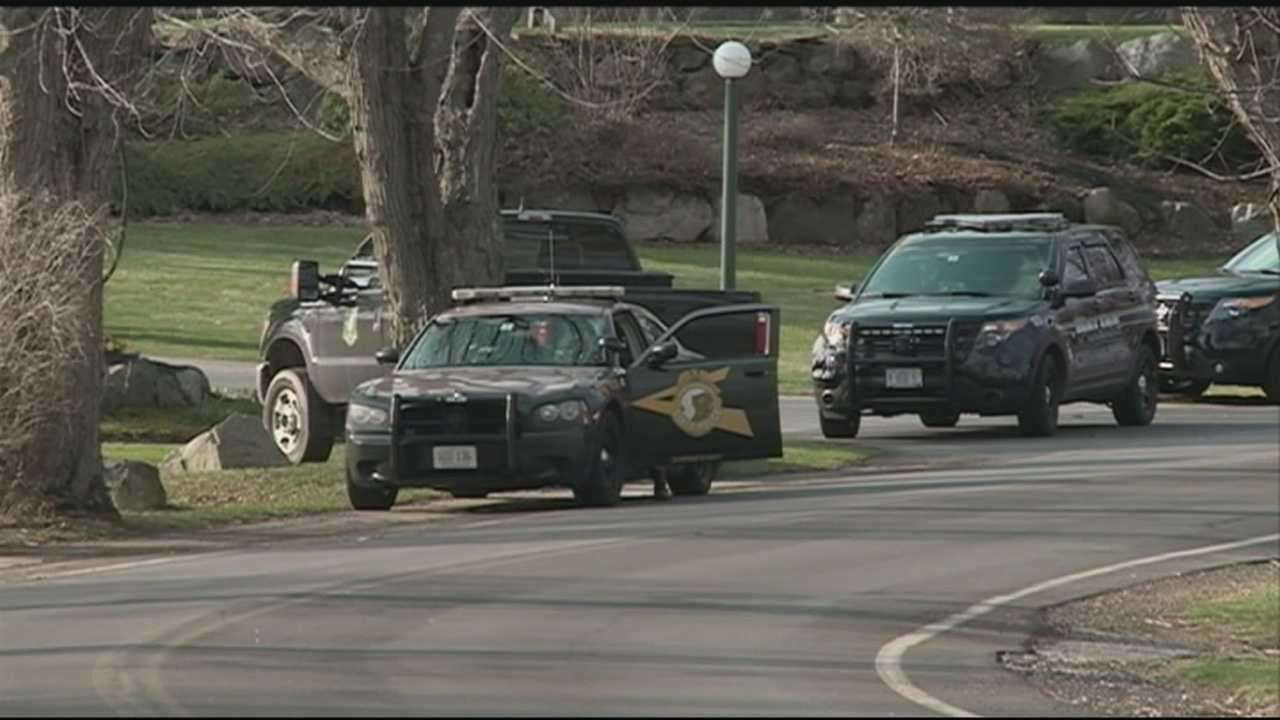 Police said a report of a hostage-taking at a country club in Rye on Tuesday appears to have been a hoax.