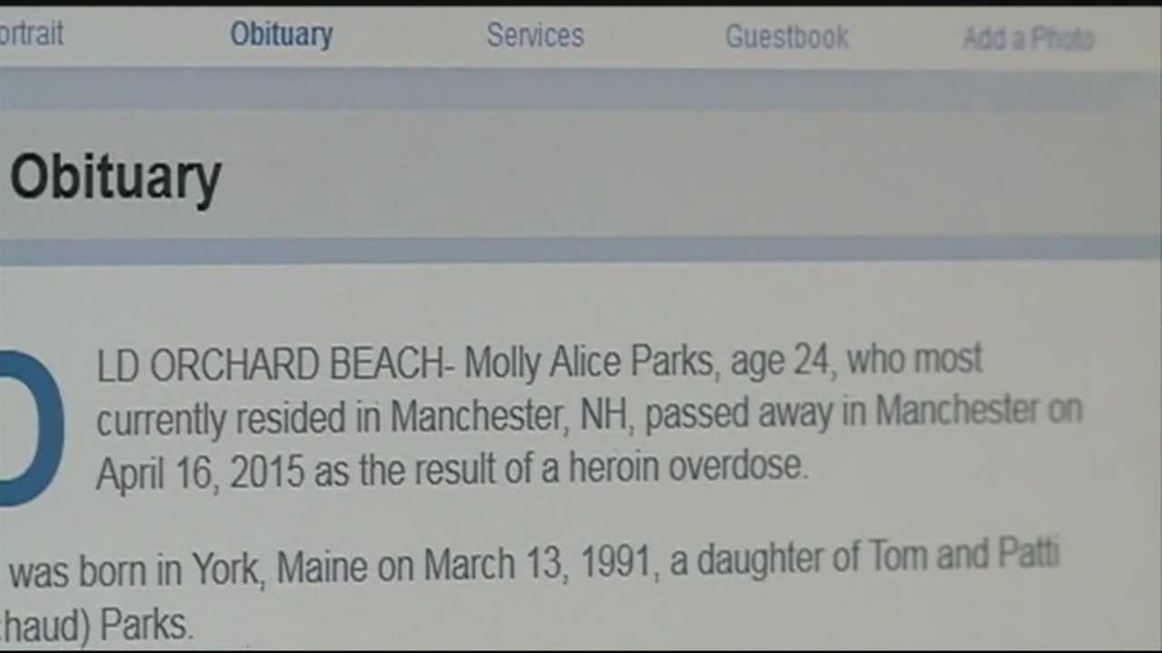 A very-straightforward obituary is getting lots of attention and the family of the young woman whose life it describes hope it might help save a life. WMUR's Jennifer Crompton talks with the family behind it.