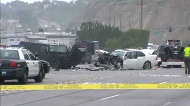 On February 7, 2015, Jenner was involved in a multiple-vehicle collision on the Pacific Coast Highway in Malibu, California. The accident caused one death.