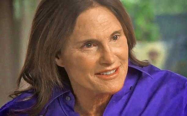 Bruce Jenner as seen in February 2015 in his interview with Diane Sawyer.