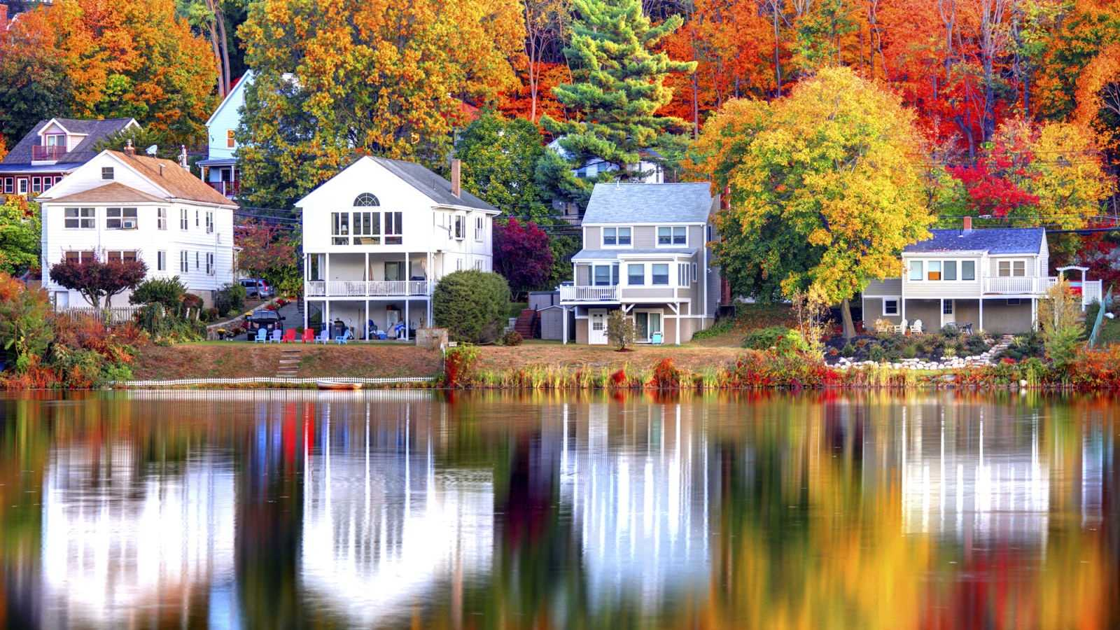 MassachussettsThe colorful foliage is proof that there's no season more stunning than fall in New England.