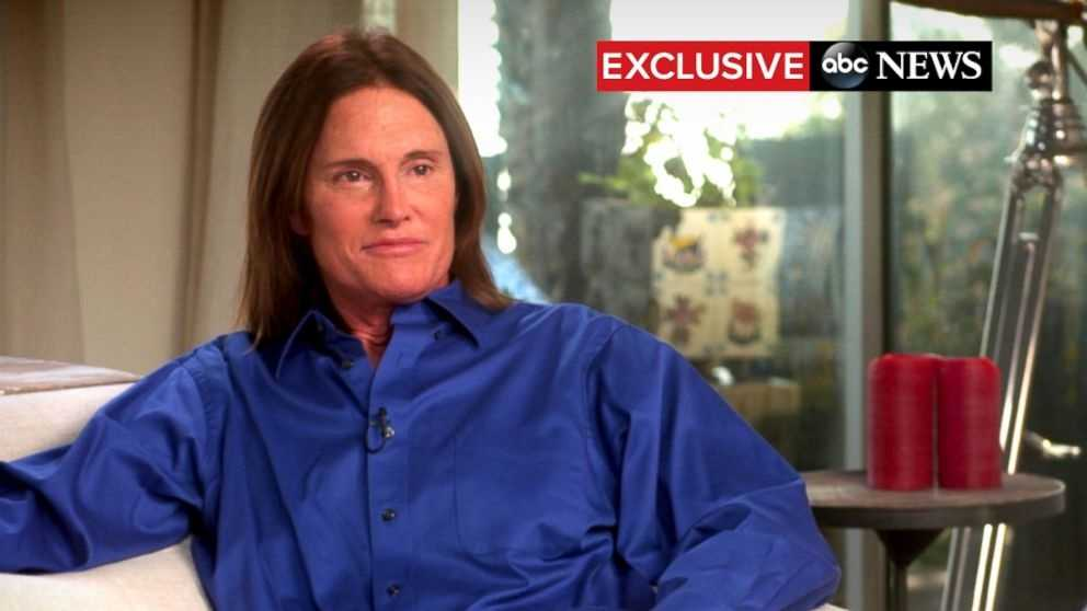 "Jenner let his hair down — literally loosening a ponytail and letting his hair flow past his shoulders — in a symbolic moment at the start of his two-hour interview with ABC News' Diane Sawyer. ""Yes, for all intents and purposes, I am a woman."""