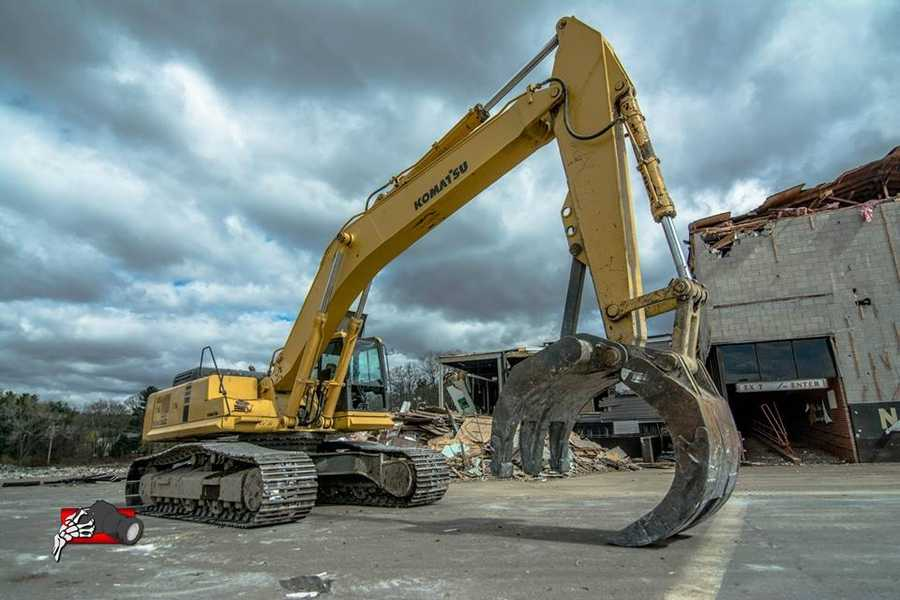 See more photos from photographer Brian Cummings of the demolition on his Facebook page.