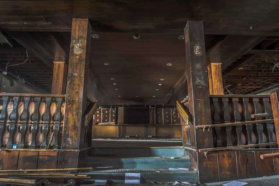 Before demolition Monday, photographerBrian Cummings got a look inside the once famous Hillside Restaurant. See more photos on Brian's Facebook page.