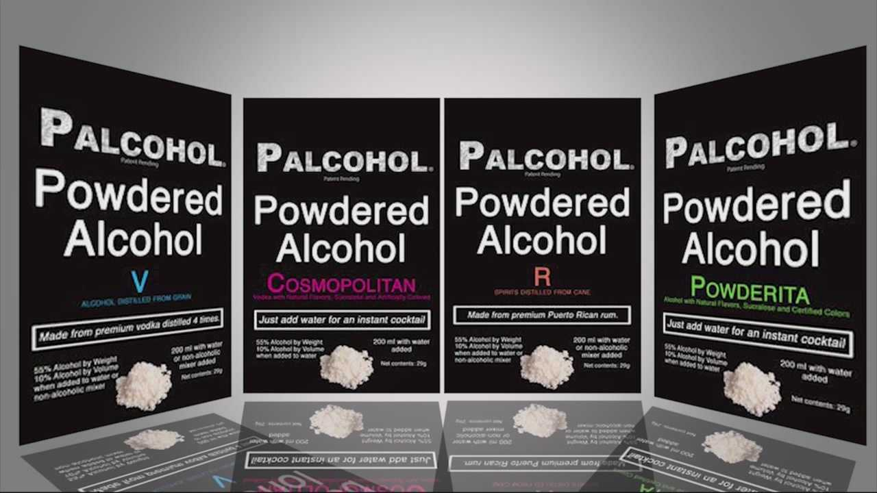 Push to ban possession of powdered alcohol in Mass.