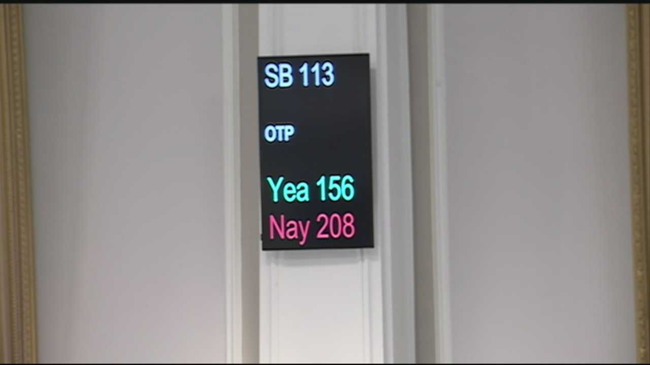 House lawmakers voted Wednesday to defeat a bill that would have allowed casino gambling in the Granite State.