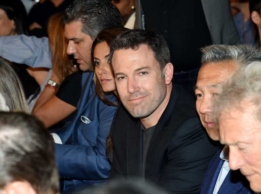 Actor and Boston-native Ben Affleck.